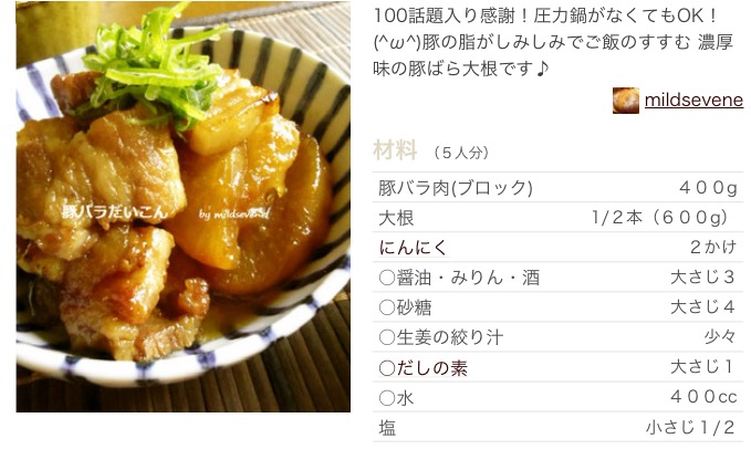 つくれぽ1000超え!大根と豚肉の人気簡単レシピ30選
